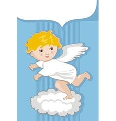 Angel Background vector image vector image