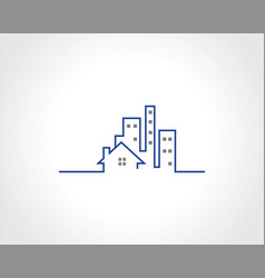 Building logo vector