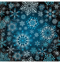 Seamless christmas grunge pattern vector image vector image
