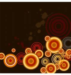 circles vector image vector image