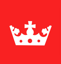 a crown vector image vector image