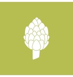 Artichoke Vegetable Icon vector image