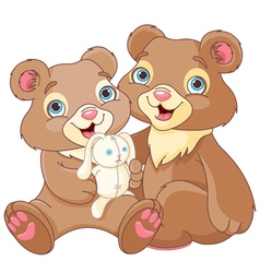 Bear brothers vector