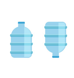 Big water bottle for coolers mineral water bottle vector