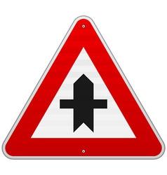 Crossroads Sign vector