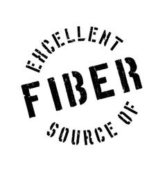 Excellent source of fiber stamp vector