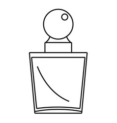 Fashion perfume icon outline style vector