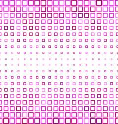 Horizontal pink square pattern background design vector
