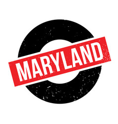 Maryland rubber stamp vector