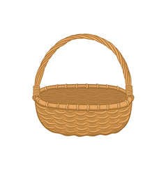 picnic backet icon vector image