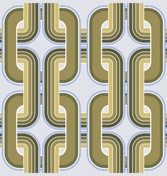 Rectangle geometry ornate pattern vector