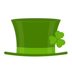 saint patricks day hat vector image