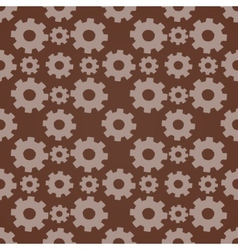 Seamless background with gears vector image