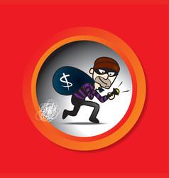 Sneak thief vector