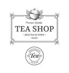 Tea shop vector