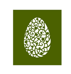 template for laser cutting vector image