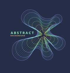 Abstract geometric background with dynamic vector