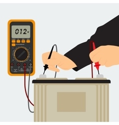 Charging the Battery vector image vector image