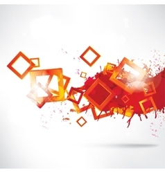 Abstract colorful background with geometric vector image
