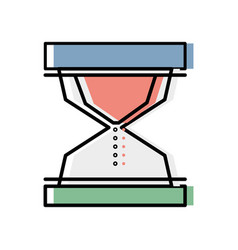 Hourglass object to know the time vector