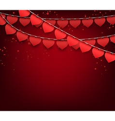 Love party celebration background vector image