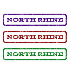 North rhine watermark stamp vector