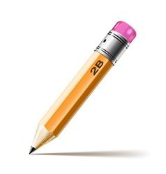 pensil hb vector image