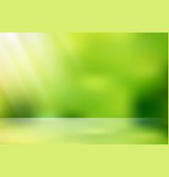 sunlight nature bokeh vector image