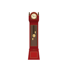 vintage watches made of wood beautifully concise vector image
