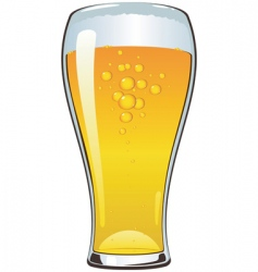 beer cartoon vector image
