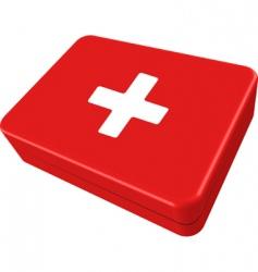First aid box vector