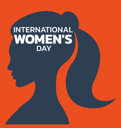 International womens day logo icon design vector