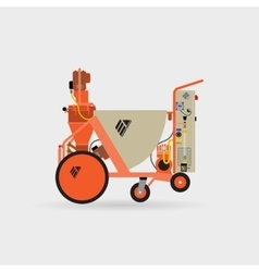 Plastering Machines vector