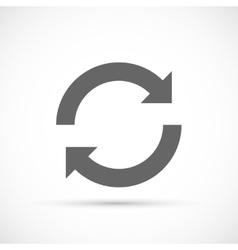 rotation arrows icon vector image