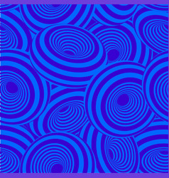 3d geometric striped donuts seamless repetitive vector