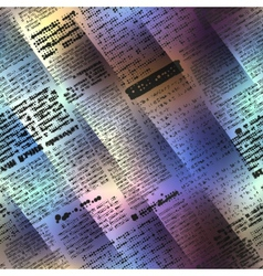 Abstract newspaper on blurred background vector