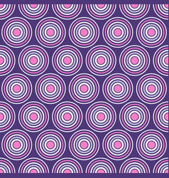 abstract seamless pattern of symmetrically vector image