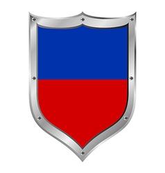 Haiti flag button vector