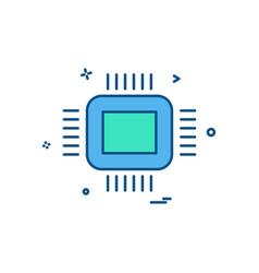 ic icon design vector image