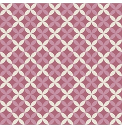 Lilac seamless pattern with square swatch Endless vector image