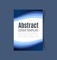 report cover design6 vector image