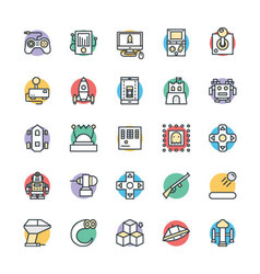 Gaming Cool Icons 1 vector image