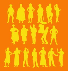 people 1 vector image