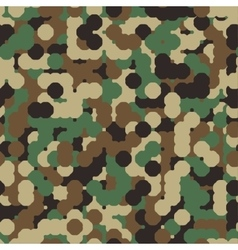 Abstract Seamless Military Camouflage vector image