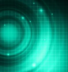 Abstract Technology Dark Cyan Background vector