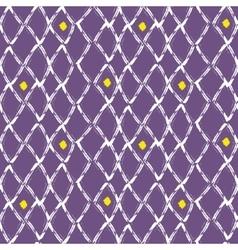 Brush stroke seamless purple mesh pattern vector