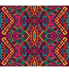 indian festive colorful ethnic tribal pattern vector image