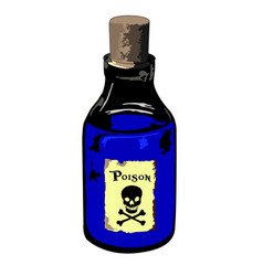 poison vector image