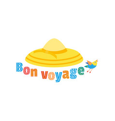 Travel icon have a nice trip vector