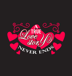 Wedding quotes and slogan good for tee a true vector